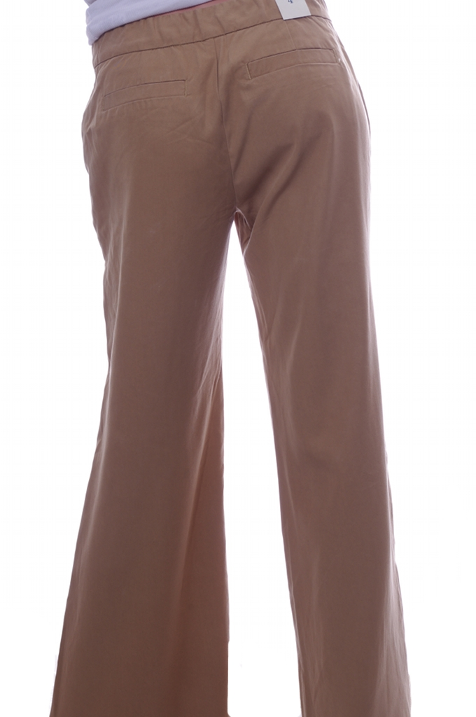 Awesome Old Navy Ultraflared Perfect Khakis In Khaki  Lyst