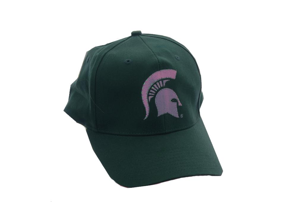 green michigan state spartan baseball football
